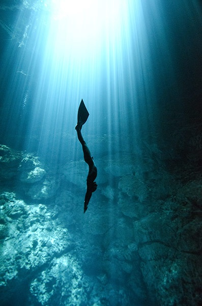 Free-diving-in-a-cenote-i-001